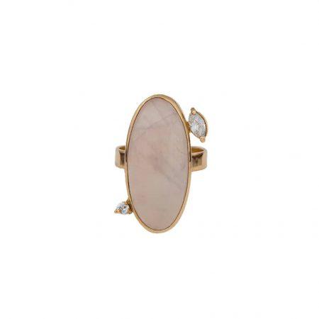 انگشتر طلا به همراه سنگ