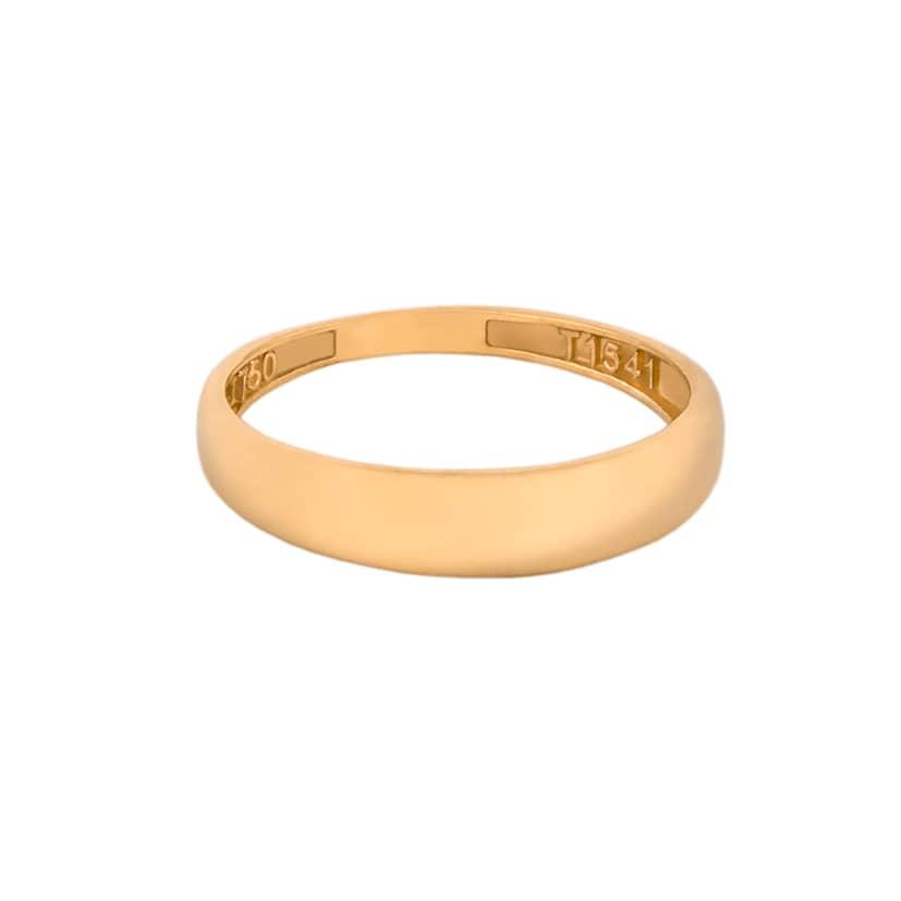 رینگ ساده طلا مناسب جاگزینی حلقه ازدواج