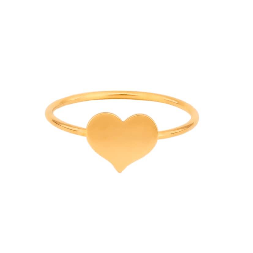 انگشتر طلا طرح قلب