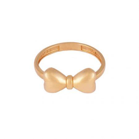 انگشتر طلا طرح پاپیون