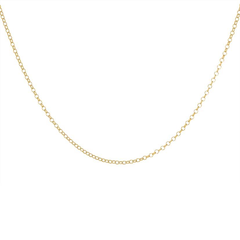 زنجیر طلا مدل رولو