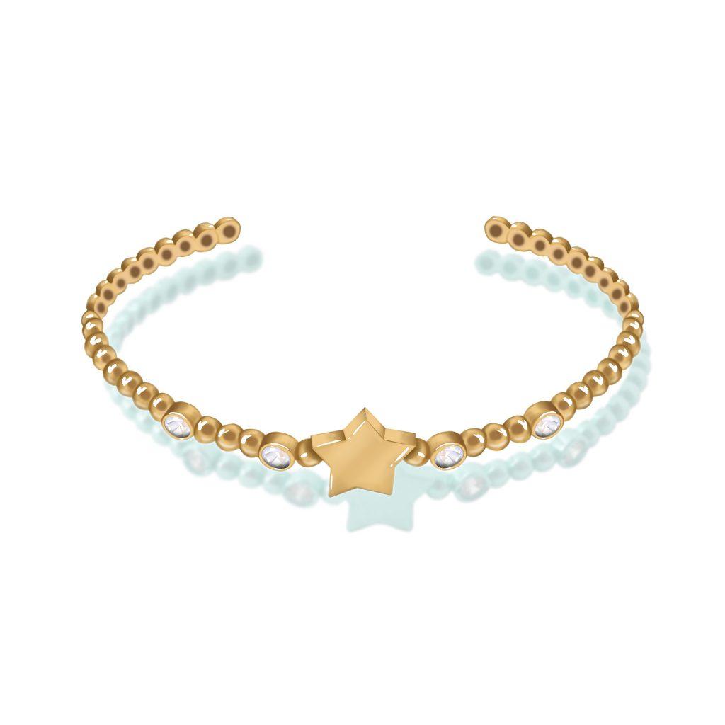 دسته بندی اصلی دستبند های طلا گالری درگونه