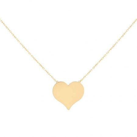 گردنبند طلا مدل قلب